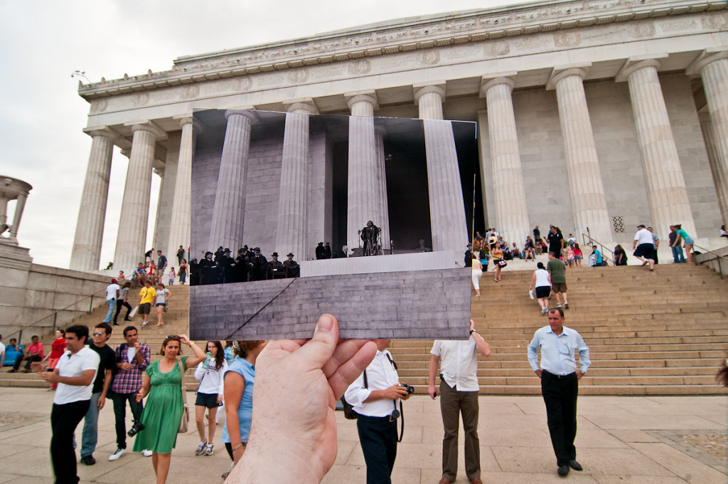 Marian Anderson, Lincoln Memorial, April 9, 1939
