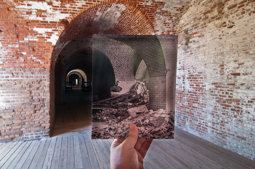 Looking Into the Past: After the Breach, Fort Pulaski, Georgia,